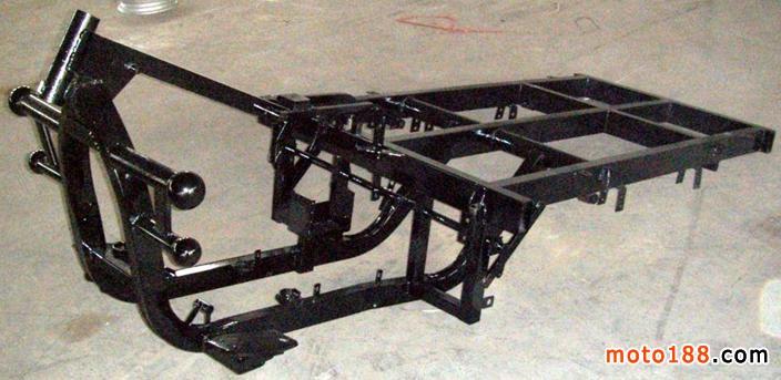 三轮车车架图片